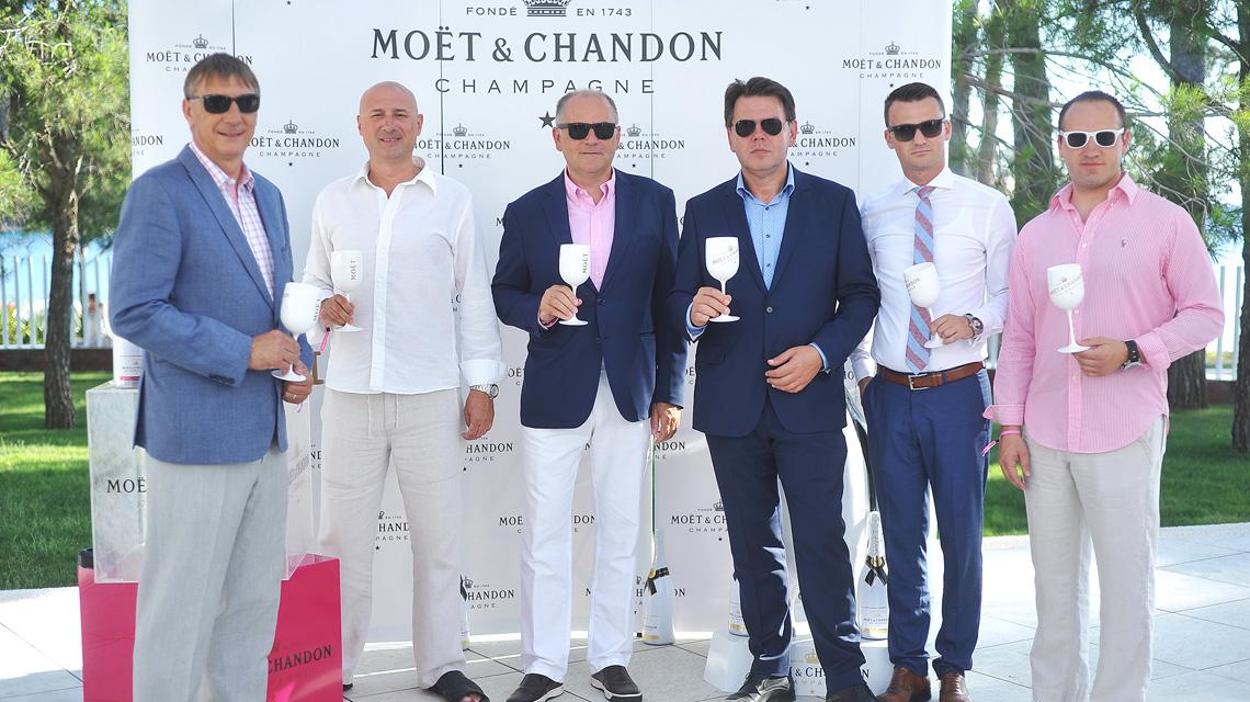 Predstavljanje šampanjca Moët Ice Impérial Rosé u hotelu Bellevue